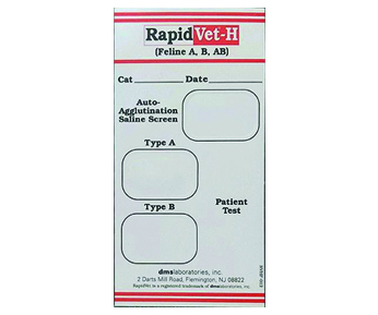 RapidVet-H Blood Typing Kits - Feline