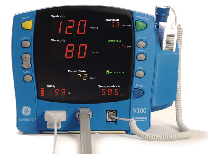 Woodley Equipment: Dinamap Carescape Vital Signs Monitor on