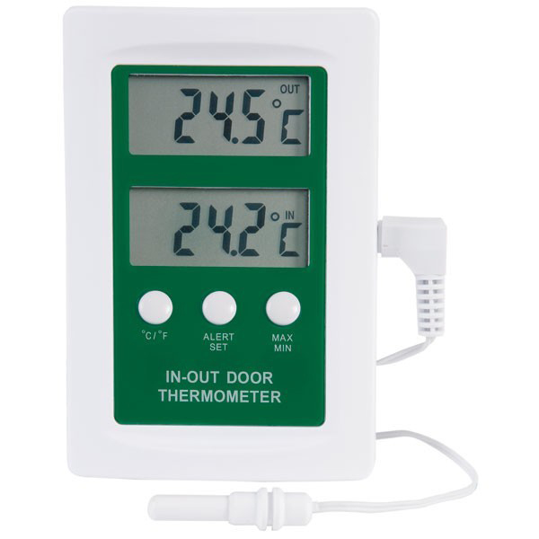 Digital Min Max and Indoor Outdoor Thermometer