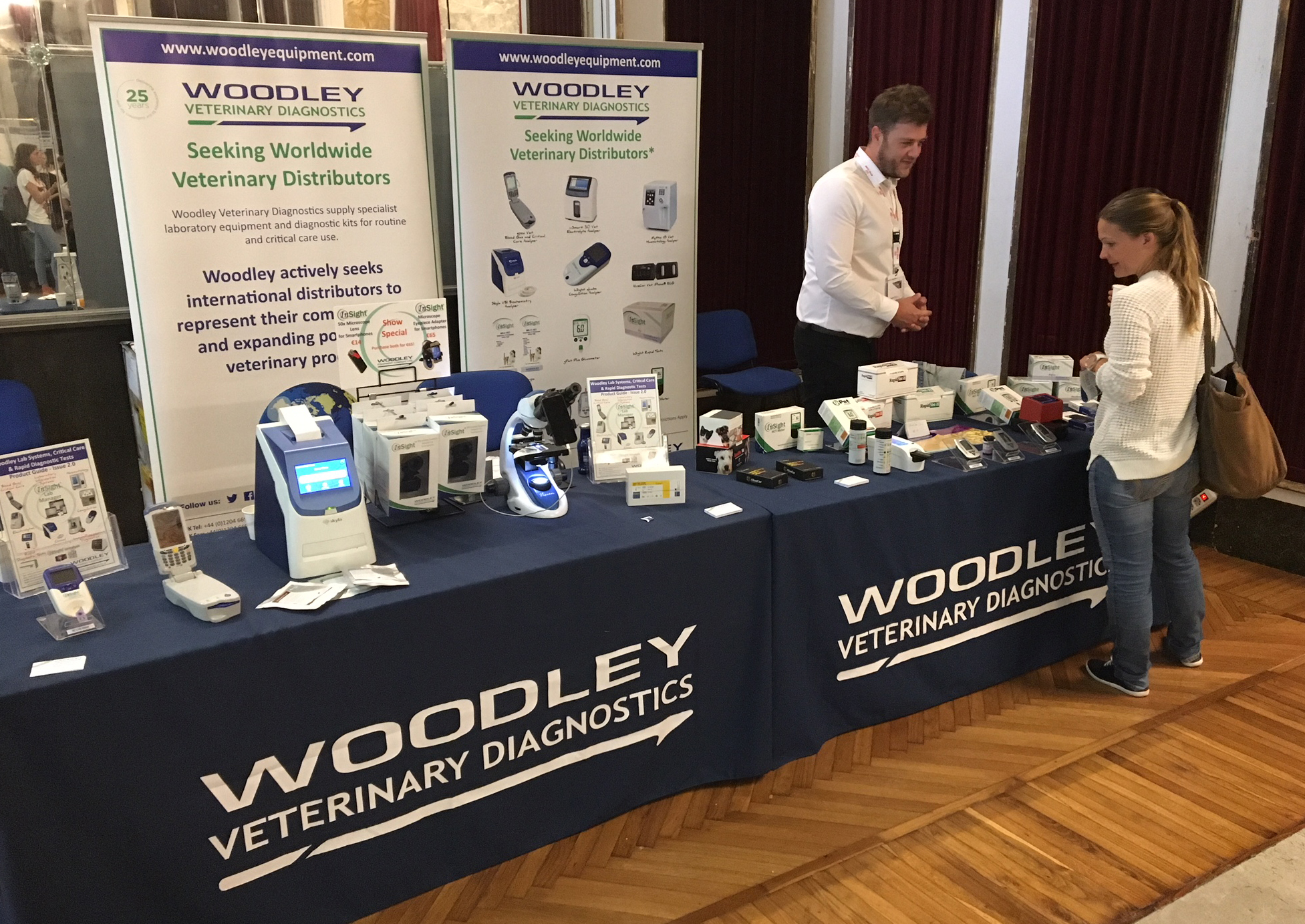 Woodley Are Proud to be Silver Sponsors of the 2018 EVECC Conference in Venice
