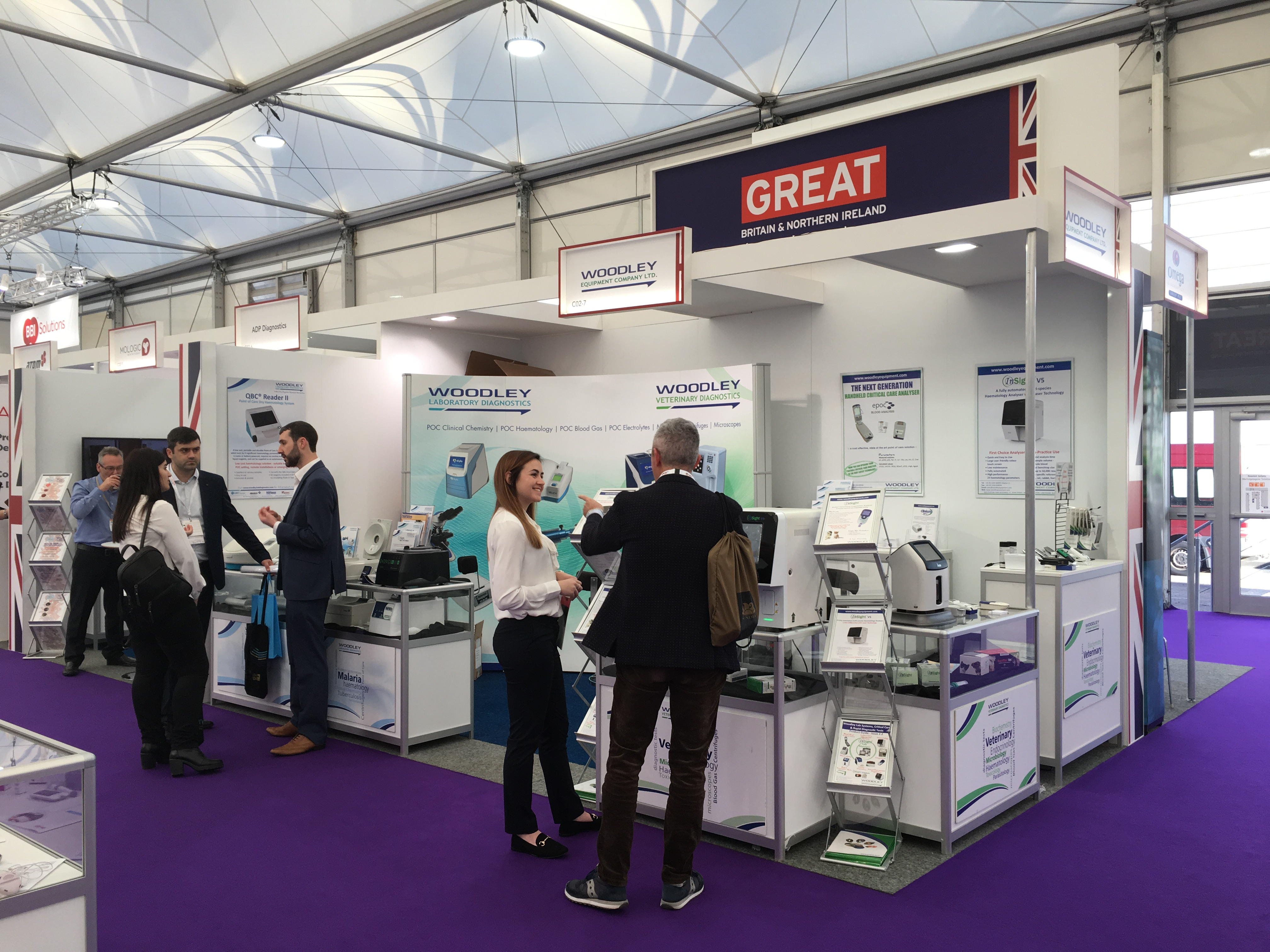Woodley Equipment is Exhibiting at Medica 2018