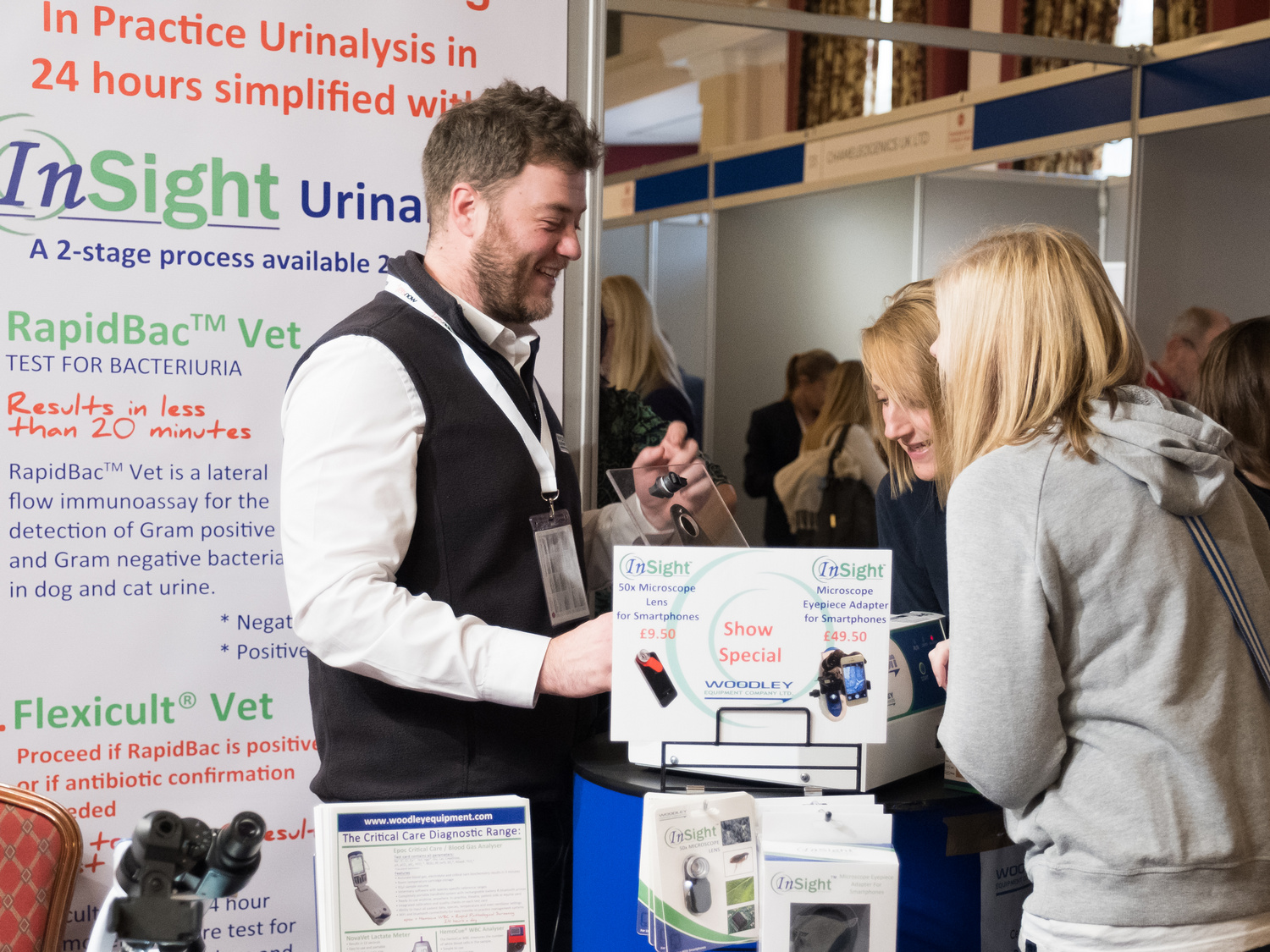 Woodley Equipment are Delighted to Once Again be the Headline Sponsor of the Vets Now Emergency & Critical Care UK Veterinary Congress