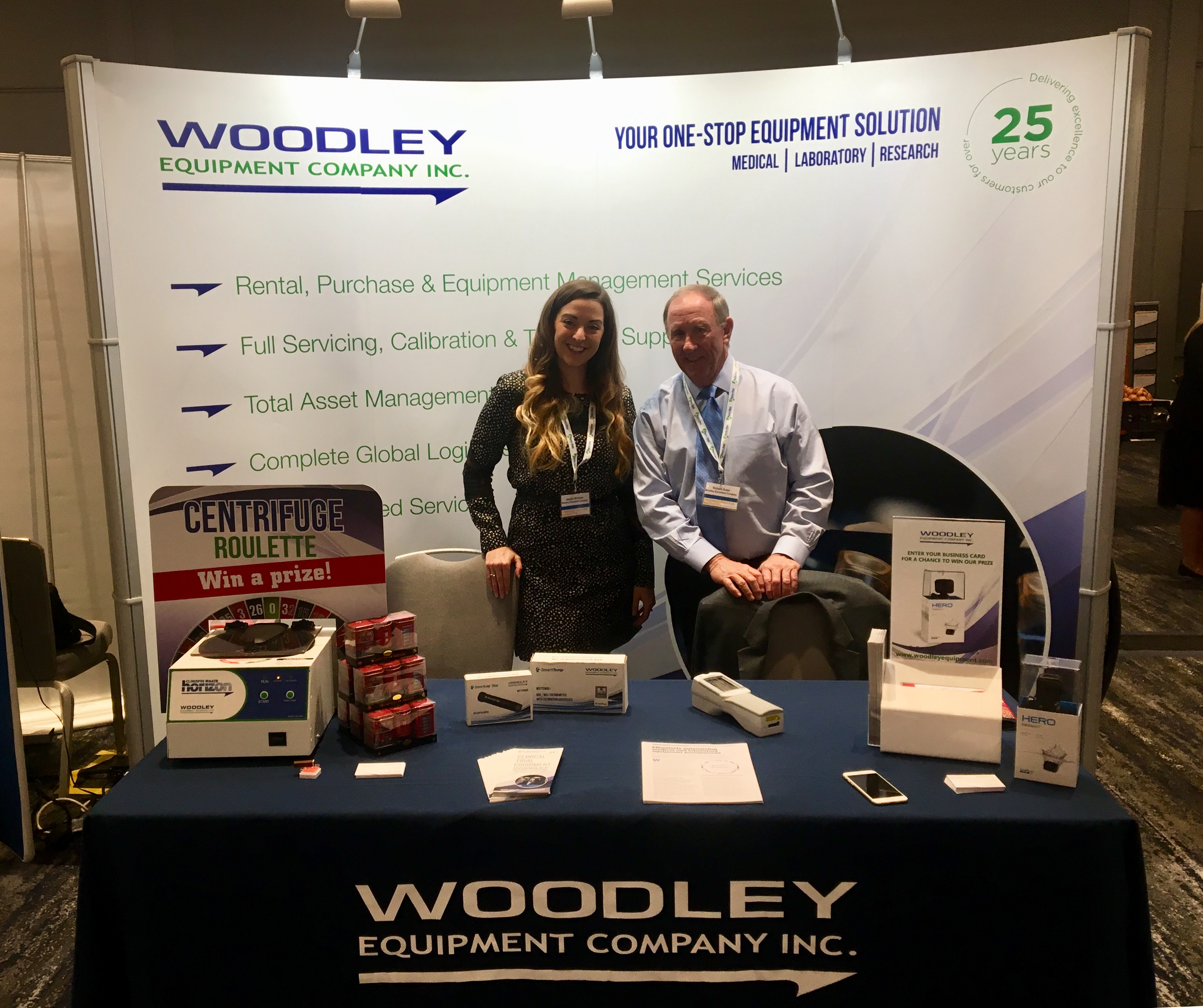 Woodley Equipment Company Inc. Exhibiting at Outsourcing in Clinical Trials West Coast 2018