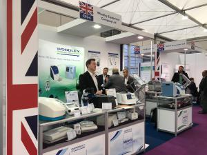 Woodley Equipment Is Exhibiting at Medica 2017