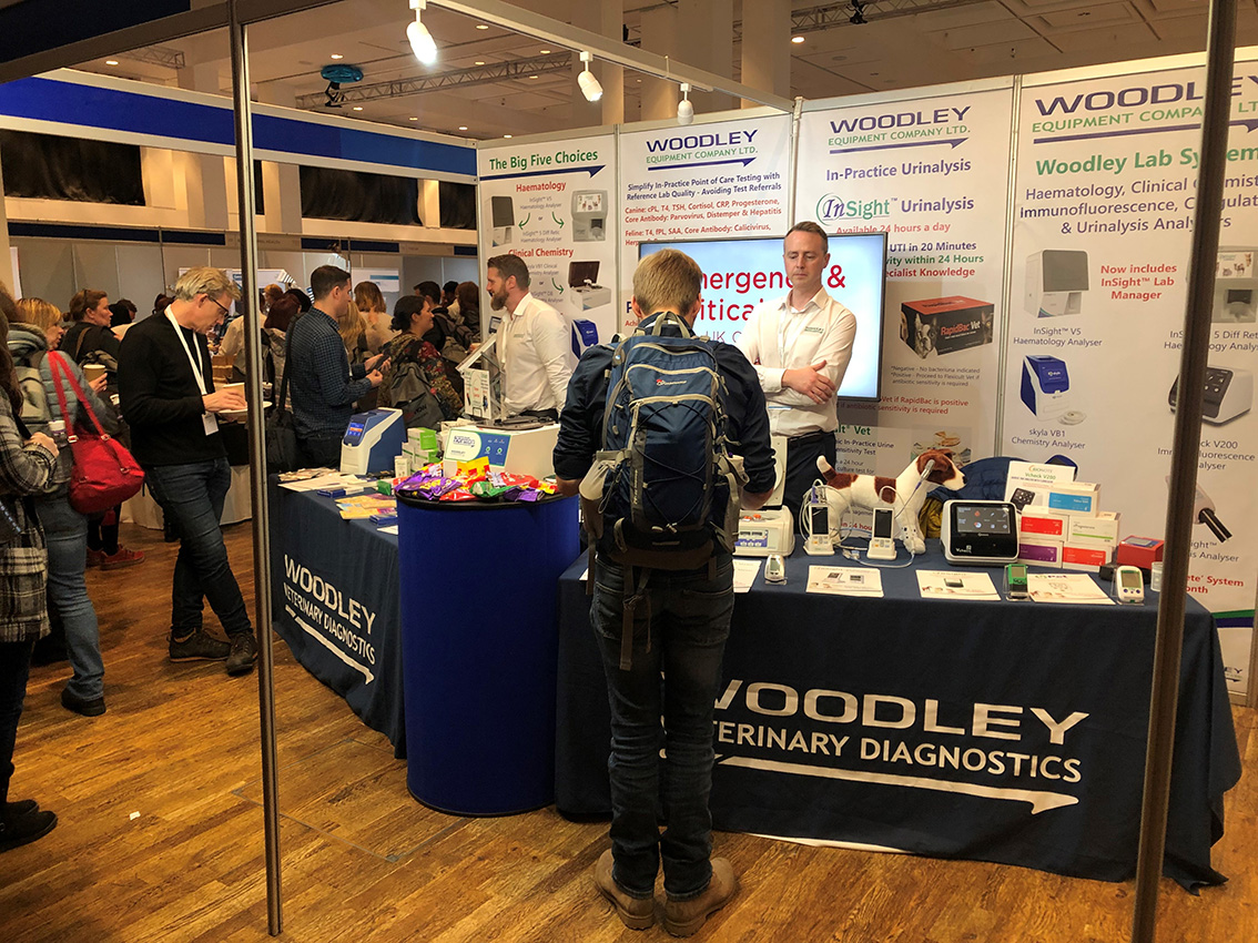 Woodley are Delighted to be the Headline Sponsor of the Vets Now ECC UK Congress