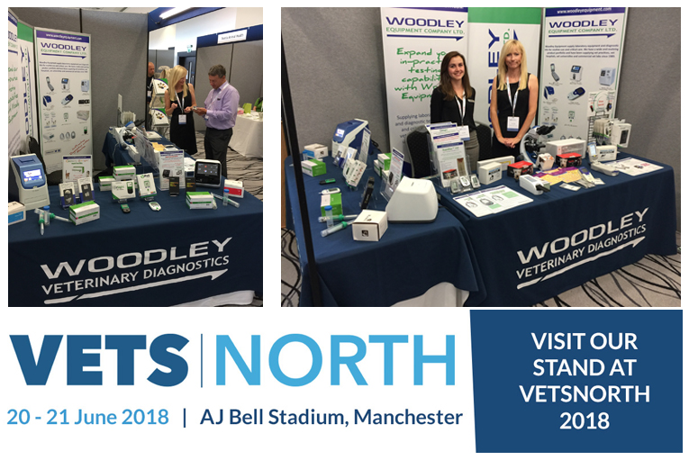 Woodley Equipment Is Exhibiting at Vets North, Manchester
